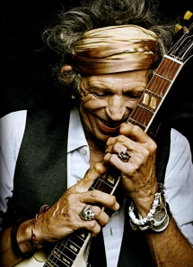 Keith Richards - Portrait - Celebrity Portraits