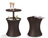 Keter Rattan Cool Bar - Outdoor Furniture