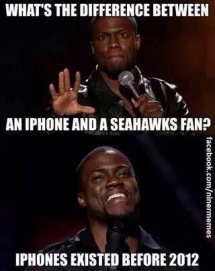 Kevin Hart Seahawks humor - Funny