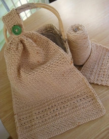 Kitchen Towel - Knit and Crochet