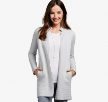 Knit Ottoman Jacket - Fave Clothing, Shoes & Accessories