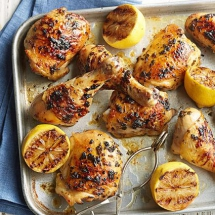 Lemon-Herb Grilled Chicken - Cooking