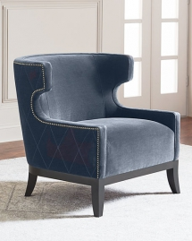 Lennox Diamond Tufted Accent Chair - For the home