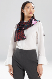 Leopard Orchid Scarf - Clothing, Shoes & Accessories
