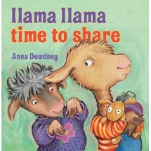 Llama Llama Time to Share by Anna Dewdney - Children's books