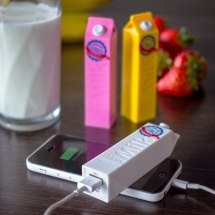 Long Life Milk Portable Chargers - Latest Gadgets & Cool Stuff