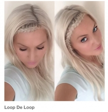 Loop de loop braid - Fave hairstyles