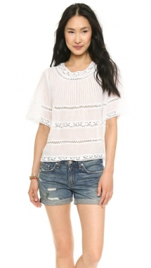 Love Sam Lace Blouse - Comfy Clothes