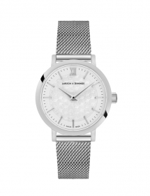Lugano Sloane Silver Milanese Watch - Clothing, Shoes & Accessories