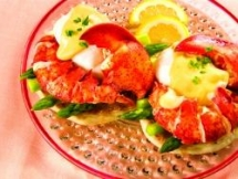 Maine Lobster Benedict - Food & Drink