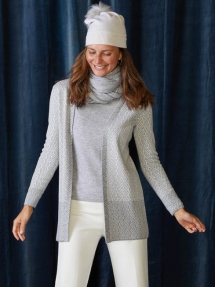 Marguerite Cardigan - Winter Wardrobe