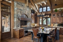 Massive Kitchen Island - Dream Kitchens