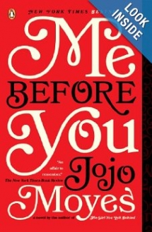 Me Before You by Jojo Moyes - Christmas gift ideas for the Wife