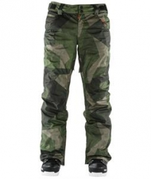 Men's Camo Snowboard Pants - Winter Sports
