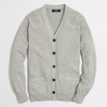 Men's cotton cardigan sweater - Clothes make the man