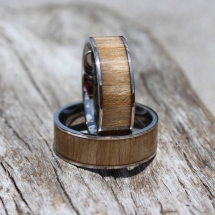 Men's Drift Wood Ring - For him