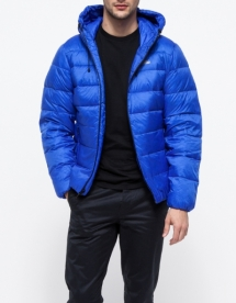 Men's nylon jacket with hoodie - Jackets & Coats
