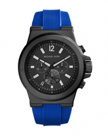 Men's Silicone/Stainless Steel Dylan Chronograph Watch - Watches