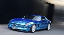Mercedes-Benz SLS AMG Electric Drive - the most powerful car AMG has ever built - Electric Sports Cars