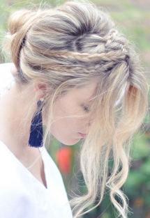 Messy Rope Braids - Hair and Nails