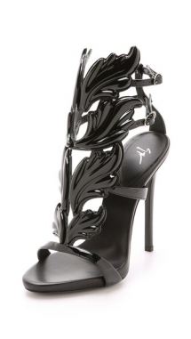 Metal Wing Sandals by Giuseppe Zanotti - Sandals