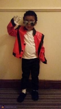 Michael Jackson Thriller Costume For Kids