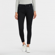 Mid Rise Skinny Sateen Pants - Fave Clothing, Shoes & Accessories