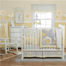 MiGi Sweet Sunshine Three Piece Crib Bedding Set - For the new arrival