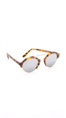 Milan III Mirrored Sunglasses by Illesteva - Fave Clothing, Shoes & Accessories