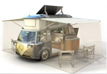 Modern reinterpretation of the classic VW Westfalia camper van - Campers