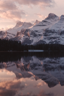 Mount Rundle in Banff National Park - Natural Treasures