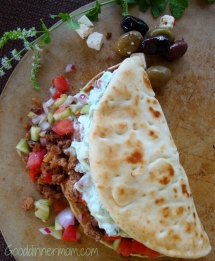 My Big Fat Greek Tacos - Easy recipes