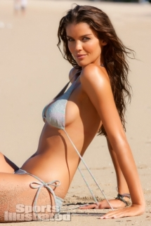 Natasha Barnard in a bikini by Elizabeth Kosich New York - SI Swimsuit