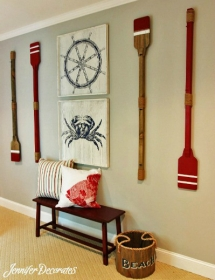 Nautical Boys Bedroom - Beach House Decor Ideas