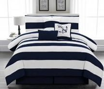 Nautical Themed Comforter Set - Beach House Decor Ideas