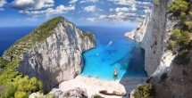 Navagio Beach (Shipwreck Beach), Zakynthos, Greece - Travel Greece