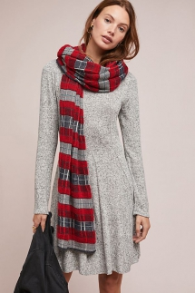 Neige Brushed Fleece Dress - Winter Wardrobe
