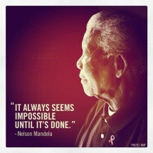 Nelson Mandela quote - Quotes & other things
