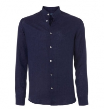 Nero Linen Shirt - Long Sleeve Shirts