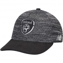 New Balance Ireland National Team Black/Silver Badge Snapback Adjustable Hat - Hats