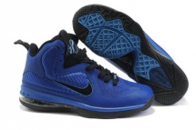 Nike Air Max Lebron James IX 9 Royal Blue/Black Mens Basketball  - good choice