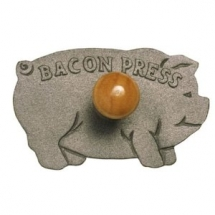 Norpro Cast Iron Pig Bacon Grill Press - Cool Products