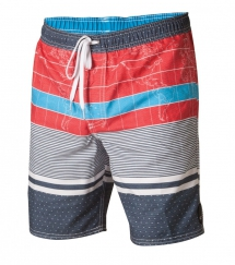 O'Neill Cartographer Red White Blue Boardshorts - Boardshorts