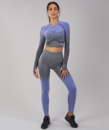 Ombre Seamless Crop Top by Gymshark - Activewear For The Gym