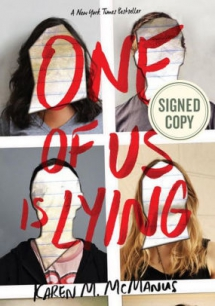 One of Us Is Lying by Karen M. McManus - Books to read