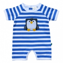 organic cotton penguin onesie - For the little one