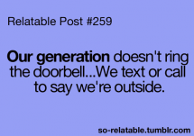 Our generation - I busted my gut laughing