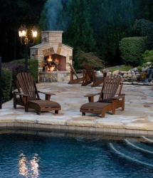 Outdoor Fireplace - Backyard ideas