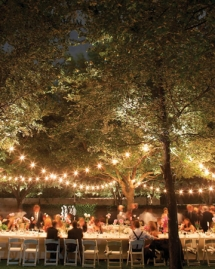 Outdoor party lighting - Party ideas