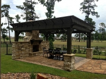 Outdoor seating with fireplace - For the home